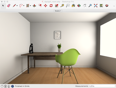 Lightup Plugin For Sketchup Render Lighting Effects