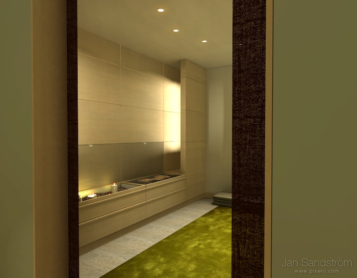Luxury Bathroom by Pixero